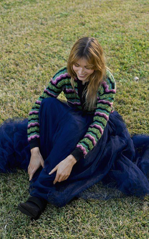 Chaqueta lana colores mujer Aldomartins