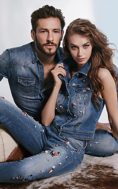 tejana con tachuelas Gaudì jeans