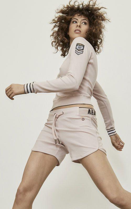 Jersey de algodón rosa lleida aeronautica militare