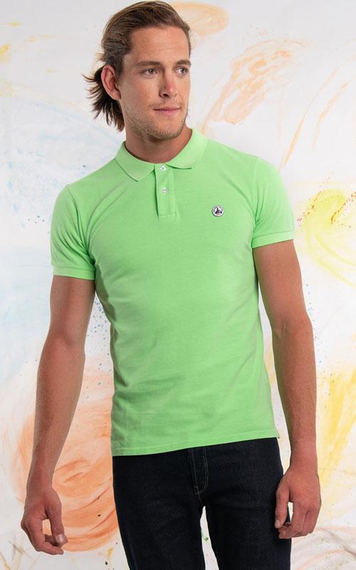 Polo manga corta verde de JOTT