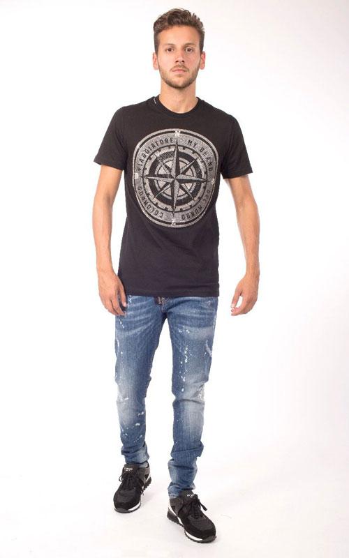 Camiseta Swaroski negra mybrand lleida juclà